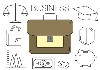 Free Business Icons - vector gratuit #404605