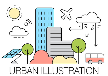 Free Urban Illustration - Kostenloses vector #404635