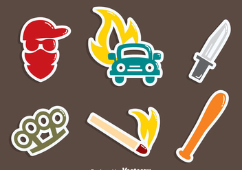 Hooligans Element Vector - Kostenloses vector #405125