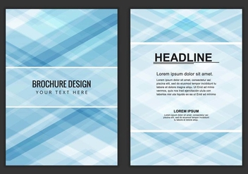 Free Vector Business Brochure - Kostenloses vector #405195