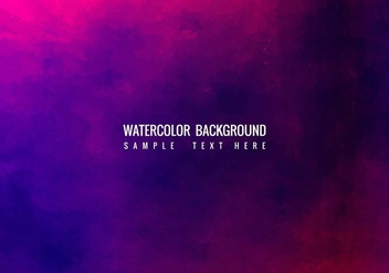 Free Vector Watercolor Background - Free vector #405215