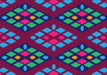 Traditional Songket - vector gratuit #405235