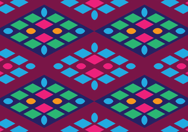 Traditional Songket - vector #405235 gratis