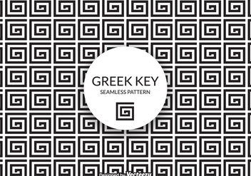 Free Vector Greek Key Background - Free vector #405685