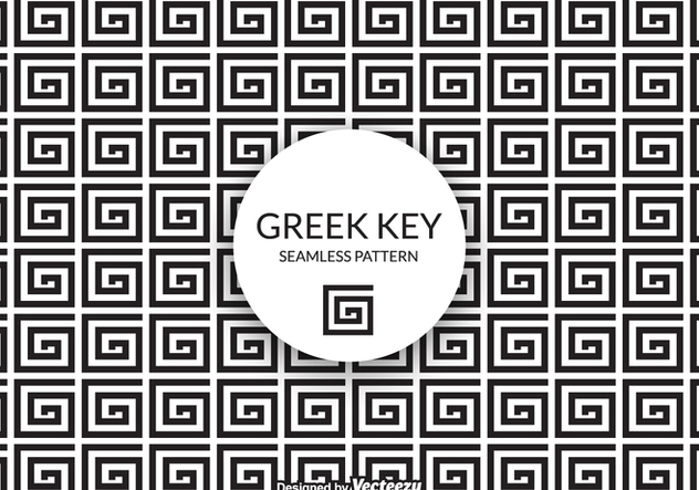 Free Vector Greek Key Background - vector gratuit #405685