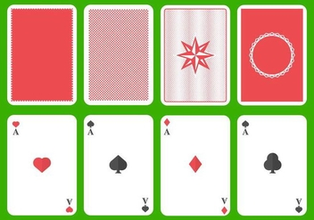 Free Playing Card Vector - Kostenloses vector #406115