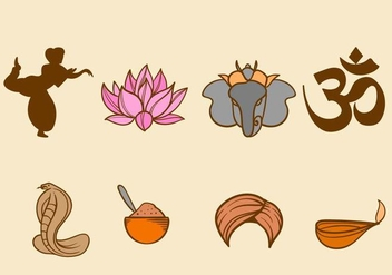 Free India Vector Icons - vector gratuit #406155