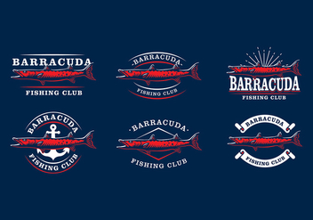 Barracuda Emblem Free Vector - бесплатный vector #406235