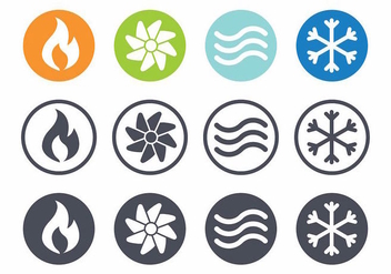 Free Hvac Vector Icon - vector #406715 gratis