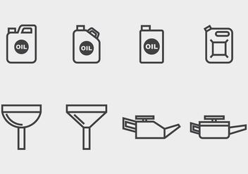 Oil Change Icon - vector #406835 gratis