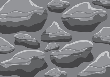Gray Rock Texturas Vector - бесплатный vector #406875