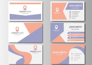Free Business Vintage Name Card Vector - Free vector #407105
