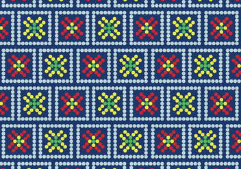 Floral Huichol - Free vector #407495