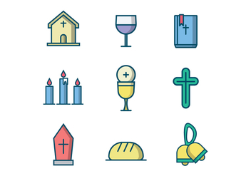 Free Christian Vector Icon - vector #407785 gratis