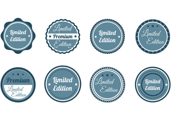 Set Of Stempel Vector - vector gratuit #407825
