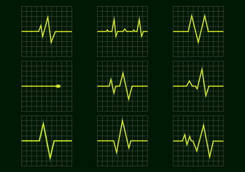 Flatline Icon Free Vector - Free vector #408385
