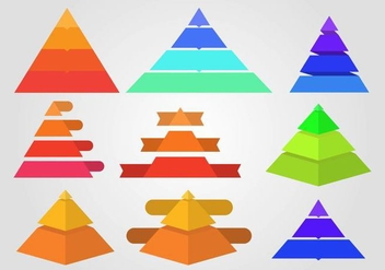 Free Piramide Infographic Vector - Free vector #409295