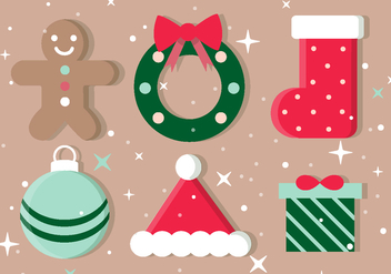 Free Christmas Vector Icons - Kostenloses vector #409485