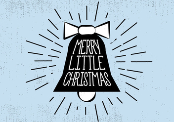 Free Vintage Hand Drawn Christmas Card Background - Free vector #409515