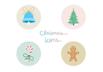 Christmas Vector Icons - Kostenloses vector #409835