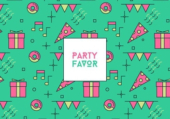 Party Favor Background - vector #409865 gratis