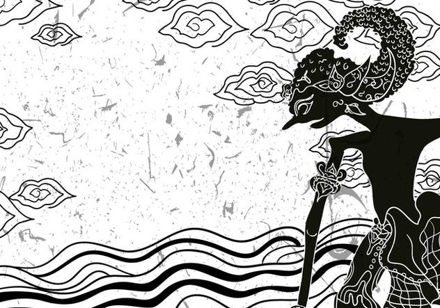 Wayang Sena Illustration Free Vector Download 409885 Cannypic