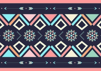 Gipsy Pattern - Kostenloses vector #409905