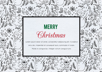 Free Vector Christmas Illustration - бесплатный vector #410055
