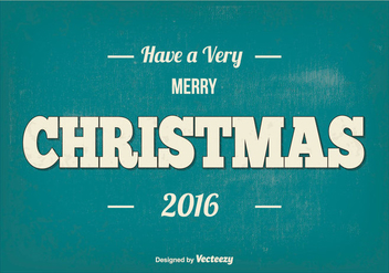 Merry Christmas Illustration - Free vector #410255
