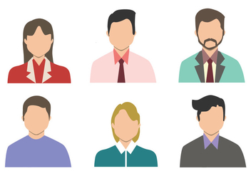 Personas Vector Set - бесплатный vector #410265