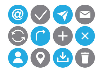 Communication Icon - vector #410365 gratis
