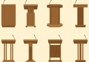 Lectern Free Vector - Free vector #410455