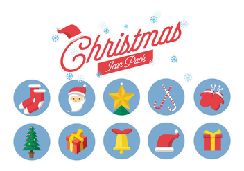 Free Christmas Icons - Kostenloses vector #410555