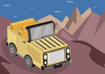 Free Jeep Illustration - vector gratuit #410615