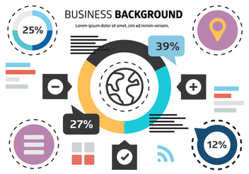 Free Business Background Vector - бесплатный vector #411075