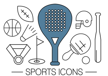 Free Sports Icons - vector #411435 gratis