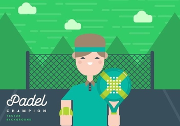 Padel Background - бесплатный vector #411445