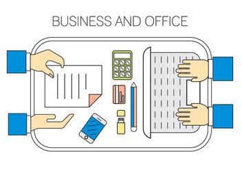 Free Office Icons - Free vector #411455