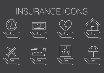 Free Insurance Icons - vector #411495 gratis
