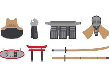 Set Of Kendo Icons - Kostenloses vector #411585