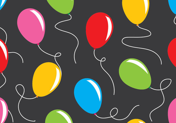 Balloon Pattern - vector gratuit #411755