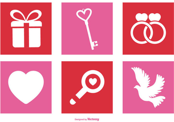 Valentine's Day Icon Set - бесплатный vector #411935