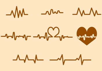 Free Heart Rate Vector - Free vector #412225