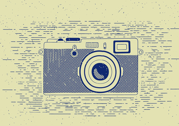Free Vector Detailed Camera illustration - бесплатный vector #412545