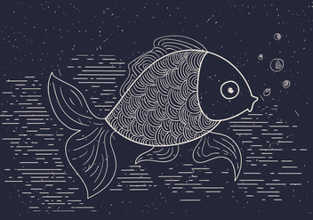 Free Detailed Vector Illustration of Fish - Kostenloses vector #412565