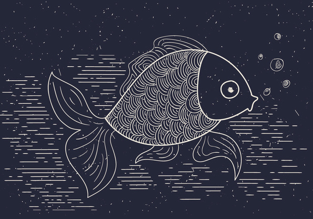 Free Detailed Vector Illustration of Fish - vector #412565 gratis