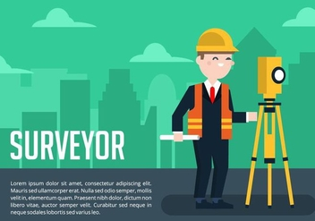 Surveyor Background - vector gratuit #412655