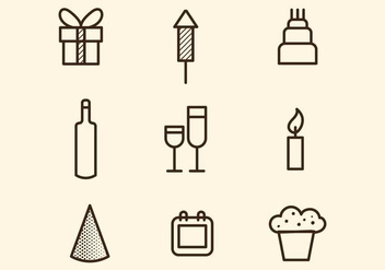 Free Party Vector Icon - Free vector #412825
