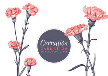 Free Carnation Flowers Background - Free vector #413015