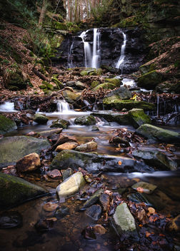 Old Allensford Waterfall - Kostenloses image #413035